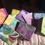 Individually painted book covers