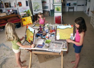 Painting Holidays in Spain with Steffi Goddard for all ages