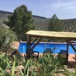 This is the pool at Cortijo Las Salinas