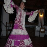 Flamenco dancing evening at Cortijo Las Salinas