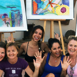 Creative Art Workshop, Art Holiday, Spain