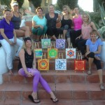 Art, yoga and healing group