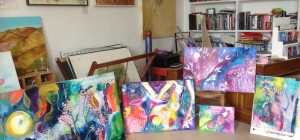 Intuitive Art with Steffi Goddard