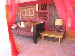 This is our Moroccan Chill Out Zone